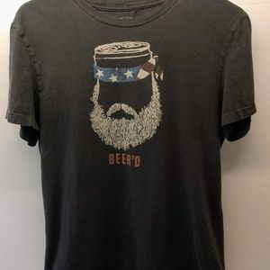 "American Eagle Outfitters ""Beer'd"" T Shirt M"